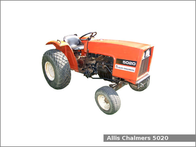 Allis Chalmers 5020 utility tractor review and specs - Tractor Specs