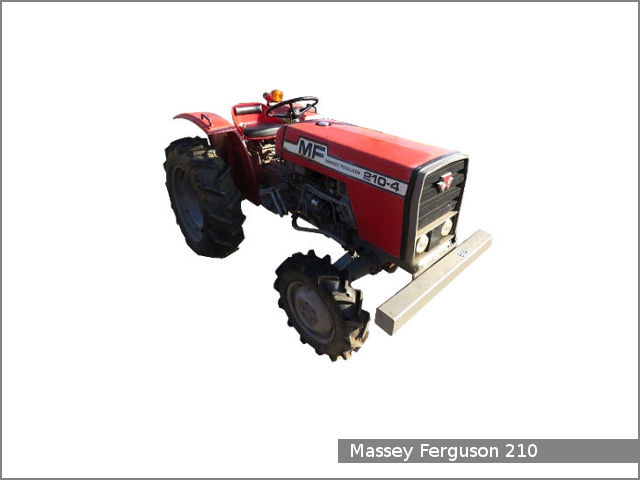Massey Ferguson 210 / 210-4 tractor: review and specs - Tractor Specs