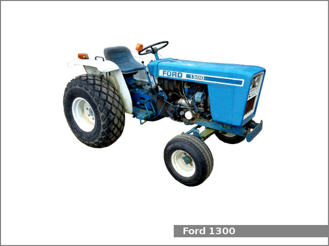 Ford 1300 utility tractor: review and specs, service data