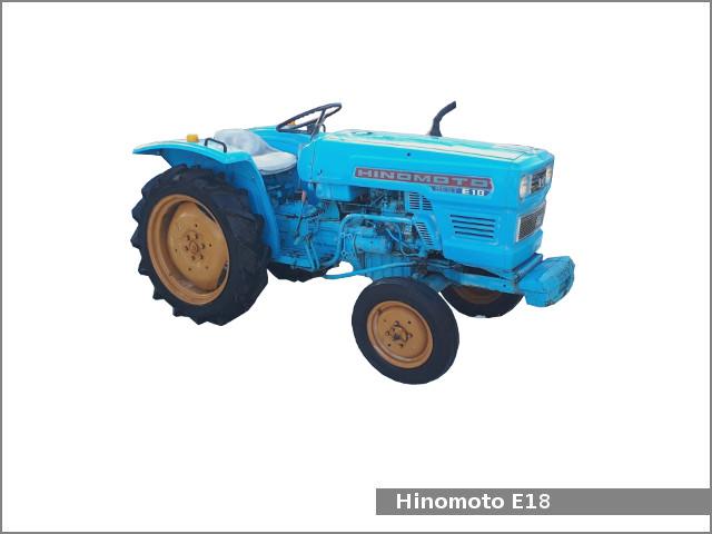 Hinomoto E18    E18d Utility Tractor  Review And Specs