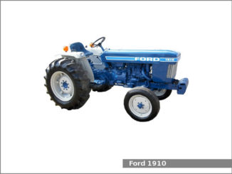 Ford 1210 utility tractor: review and specs, service data