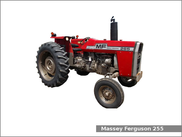 Massey Ferguson 265 tractor: review and specs, service data