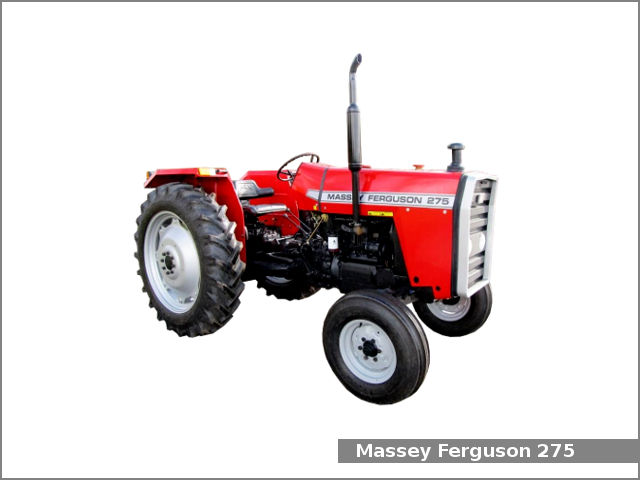 Massey Ferguson 275 tractor: review and specs, service data
