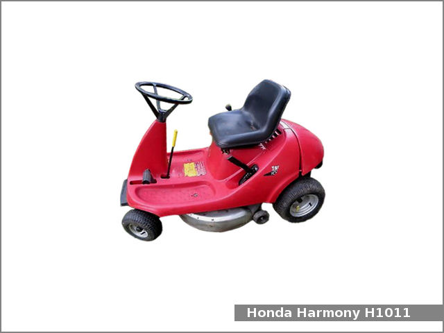 Honda H1011 Riding Lawn Mower Review And Specs Tractor