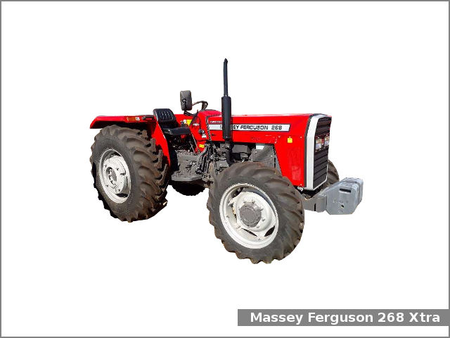 Massey Ferguson 268 Xtra tractor: review and specs