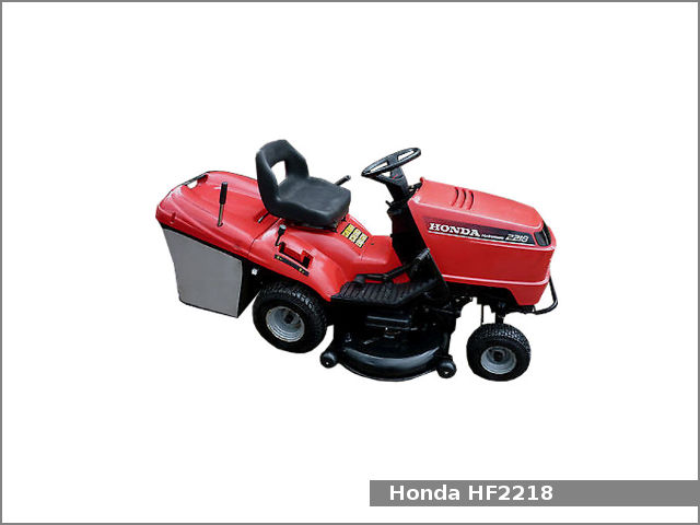 Honda HF2218 lawn tractor : review, specs, engine service data