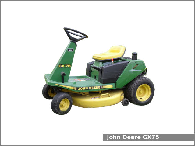 John Deere Gx75 Riding Lawn Mower  Review And Specs
