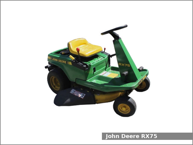 John Deere Rx75 Riding Lawn Mower Review And Specs