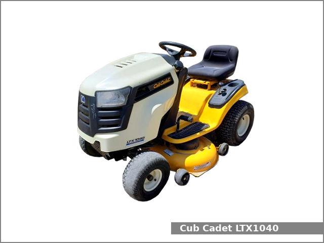 Cub Cadet Ltx 1040 Lawn Tractor Review And Specs Tractor Specs