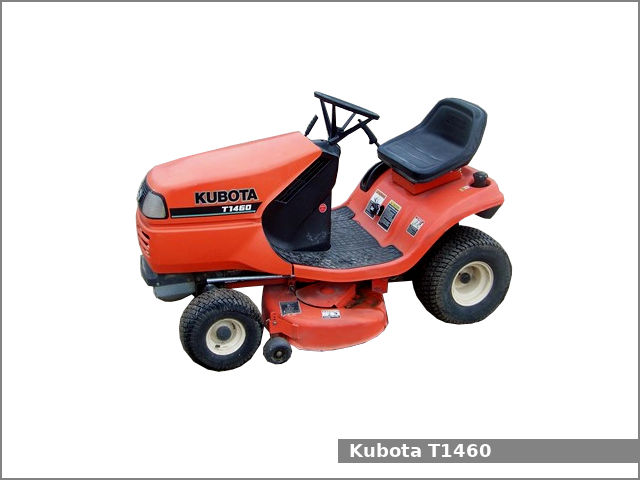 Kubota T1460 Lawn Tractor Review And Specs Tractor Specs
